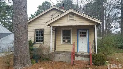 Durham Single Family Home For Sale: 107 Channing Avenue