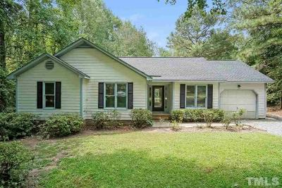 Clayton Single Family Home For Sale: 2027 Country Trails Drive