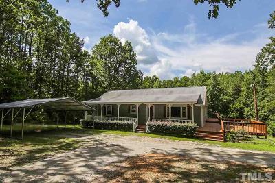 Clayton Single Family Home Pending: 2857 C Rock Pillar Road