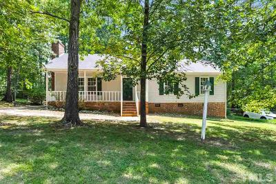 Cary Single Family Home For Sale: 1408 Castalia Drive