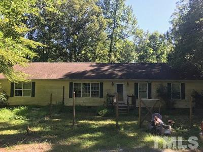Chatham County Single Family Home For Sale: 467 Meadow Branch Road