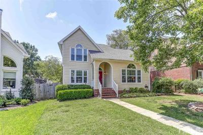 Cary Single Family Home Contingent: 143 Cumberland Green Drive