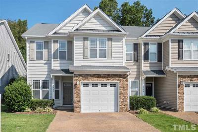 Raleigh Townhouse For Sale: 5528 Nur Lane