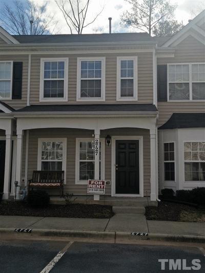Durham County Rental For Rent: 2727 Wyntercrest Lane