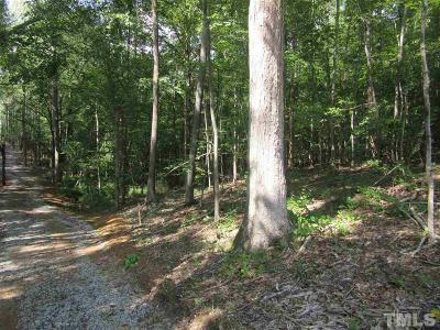 Wendell Residential Lots & Land For Sale: Tract 8 Earpsboro Chamblee Road
