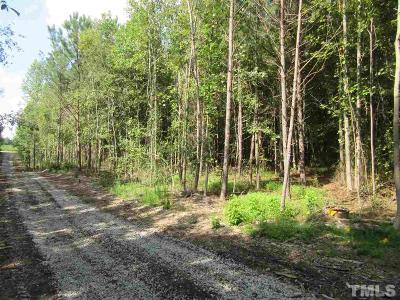 Wendell Residential Lots & Land For Sale: Tract 9 Earpsboro Chamblee Road