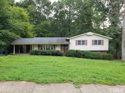 Raleigh Single Family Home For Sale: 5516 North Hills Drive