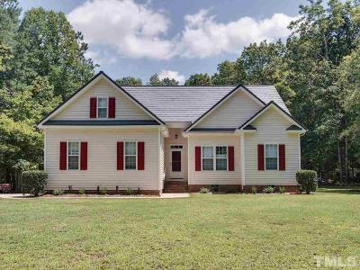 Wake Forest Single Family Home Contingent: 8902 Bowtie Court