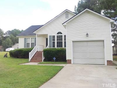 Knightdale Single Family Home Contingent: 1008 Moat Court