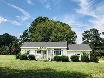 Zebulon Single Family Home Contingent: 24 Adna Pearce Road