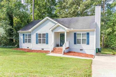 Knightdale Single Family Home For Sale: 1222 Delham Road
