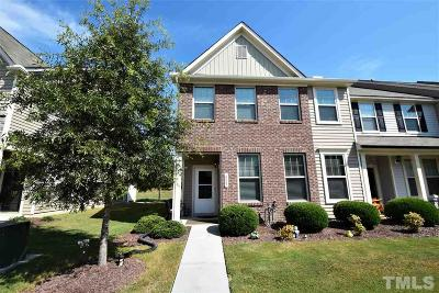 Wake Forest Townhouse For Sale: 4447 Middletown Drive