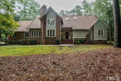 Wake County Single Family Home For Sale: 2308 Heartley Drive