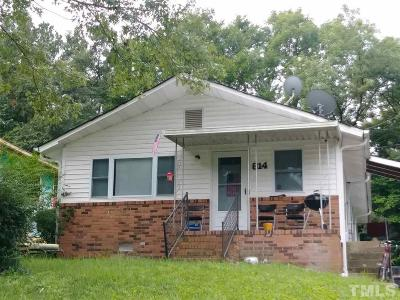 Durham Single Family Home Pending: 814 Chalmers Street
