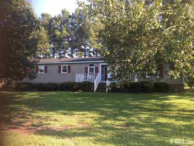 Harnett County Manufactured Home For Sale: 231 Howards Lane