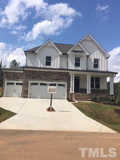 Holly Springs Single Family Home Pending: 7245 Rex Road