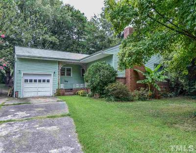 Durham Single Family Home For Sale: 1519 Ruffin Street