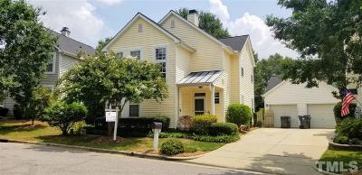 Apex Single Family Home For Sale: 1124 Silky Dogwood Trail