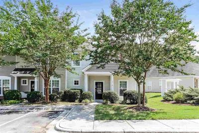 Raleigh, Cary Townhouse For Sale: 2710 Willow Pines Place
