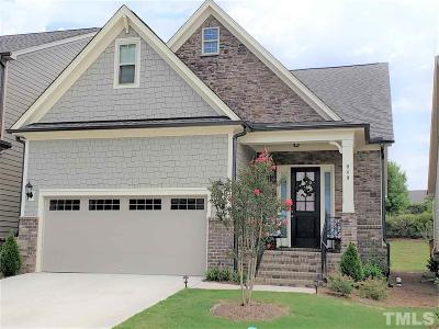 Cary Single Family Home For Sale: 949 Regency Cottage Place
