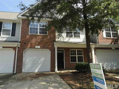 Cary Rental For Rent: 507 Ringleaf Court