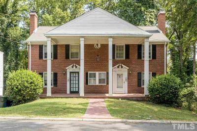 Raleigh Single Family Home Pending: 2254 The Circle