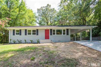 Durham Single Family Home For Sale: 2004 Crowell Street
