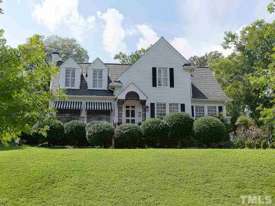 Durham Single Family Home For Sale: 1529 Hermitage Court