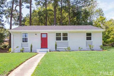 Raleigh Single Family Home For Sale: 700 Brigham Road