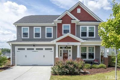 Knightdale Single Family Home For Sale: 4514 Kennamer Way