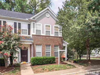 Raleigh Townhouse For Sale: 4700 Black Mountain Path