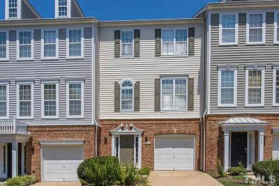 Wake County Townhouse For Sale: 5406 Bayside Court