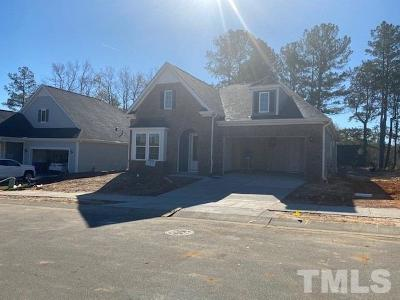Fuquay Varina Single Family Home For Sale: 1099 Hodgson Lane #Lot 4