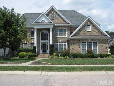 Wake County Single Family Home For Sale: 429 Virginia Waters Drive