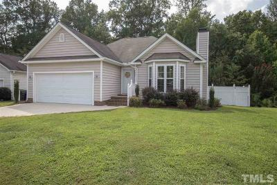 Raleigh Single Family Home For Sale: 5209 Moss Hill Drive