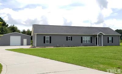 Harnett County Single Family Home For Sale: 118 Bryan Godwin Court