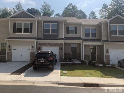 Durham Townhouse For Sale: 1005 Compass Drive