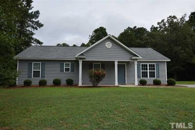 Johnston County Rental For Rent: 31 Golden Timber Circle