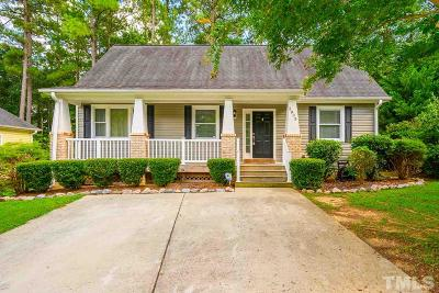 Wake County Single Family Home For Sale: 2905 Benjamin Hill Circle