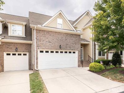 Wake County Townhouse For Sale: 632 Canvas Drive