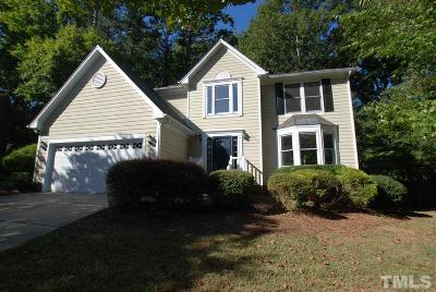 Wake County Single Family Home For Sale: 4521 Queenstown Court