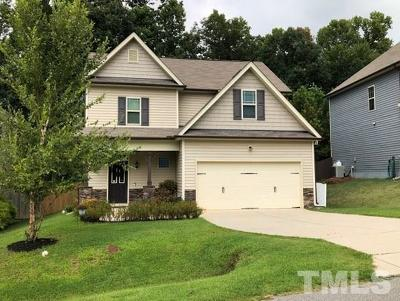 Clayton Single Family Home For Sale: 545 McCarthy Drive
