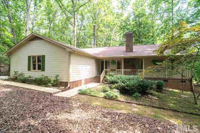 Chapel Hill Single Family Home For Sale: 1040 Gallup Road