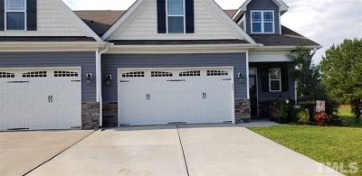 Johnston County Townhouse For Sale: 106 Radcliffe Court