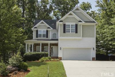 Pittsboro Single Family Home For Sale: 543 Chatham Forest Drive