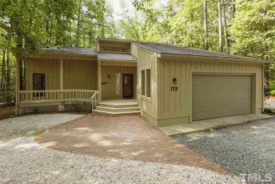 Chatham County Single Family Home For Sale: 172 Wintersage
