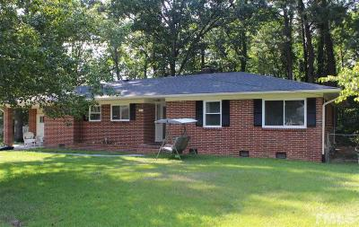 Granville County Single Family Home For Sale: 906 W C Street