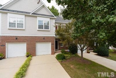 Raleigh Townhouse For Sale: 10322 Dapping Drive