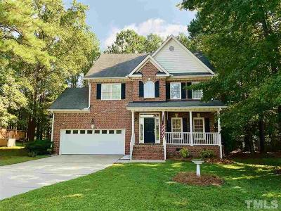 Wake County Single Family Home For Sale: 1207 Clematis Street