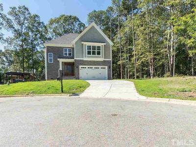 Wake County Single Family Home For Sale: 1801 Meandering Circle